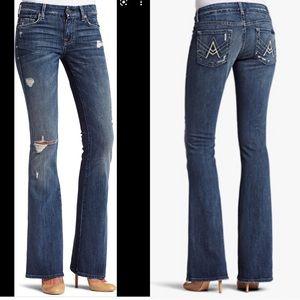 "7FAMK Jeans ""A"" Pocket  Distressed"